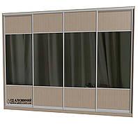 Двери для шкафа купе - комбинированные