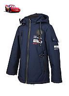 Куртка для мальчика  DL 712 весна-осень, размеры на рост от 116 до 140 возраст от 5 до 10 лет, фото 1
