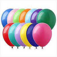 """Воздушные шары 10"""" пастель ассорти микс (assorted) 100 шт. ТМ Арт Шоу"""