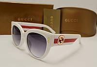 Женские солнцезащитные очки Gucci 3864 (Цвет белый), фото 1