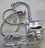 Проточный водонагреватель ZERIX с душем, фото 3