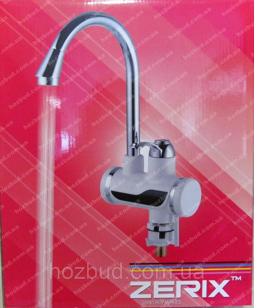 Проточний водонагрівач ZERIX з душем