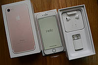 Новый Apple Iphone 7 32Gb Rose Gold Neverlock Оригинал! , фото 1