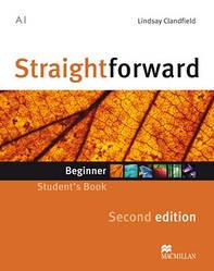 Straightforward Second Edition Beginner Student's Book (Учебник)