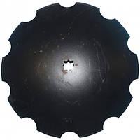 N242047, Диск бороны, ромашка D=610 (N242047/B35607), JD637/650/512 (Nichols Tillage)