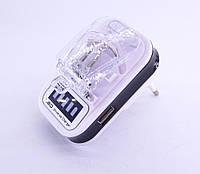 Универсальное зарядное устройство для мобильных аккумуляторов Led + USB (Жаба)