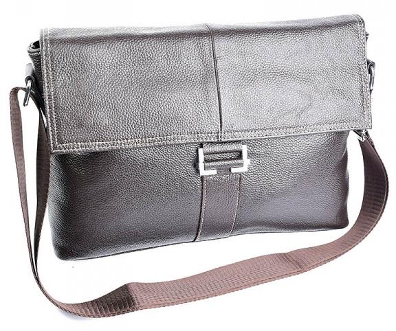 Мужская кожаная сумка 17253 Brown.Купить сумки оптом и в розницу дёшево в  Украине 9ec9437f119