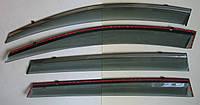 Toyota RAV 4 Mk4 ветровики дефлекторы окон ASP с молдингом нержавеющей стали / sunvisors