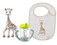Набор Жирафа Софи Vulli Non-spill cup set