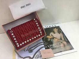 Новинка!Шикарная сумочка Miu Miu Lux в полном комплекте 1775