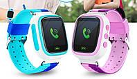 Детские часы с GPS трекером Q80, фото 1