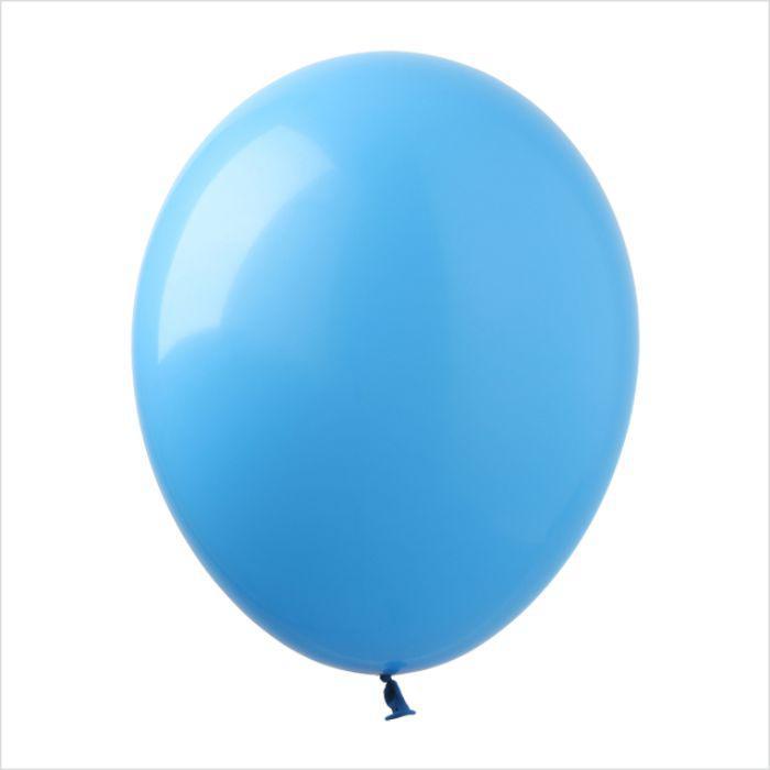 """Воздушные шары 5"""" пастель голубой (light blue) 100 шт Арт Шоу"""
