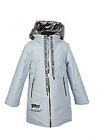 Куртка для девочки  1939 весна-осень, размеры на рост от 116 до 134 возраст от 5 до 10 лет, фото 1