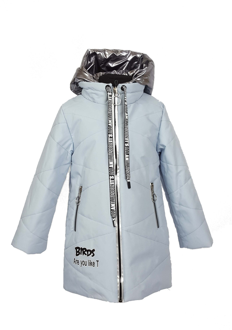 Куртка для девочки  1939 весна-осень, размеры на рост от 116 до 140 возраст от 5 до 10 лет, фото 1