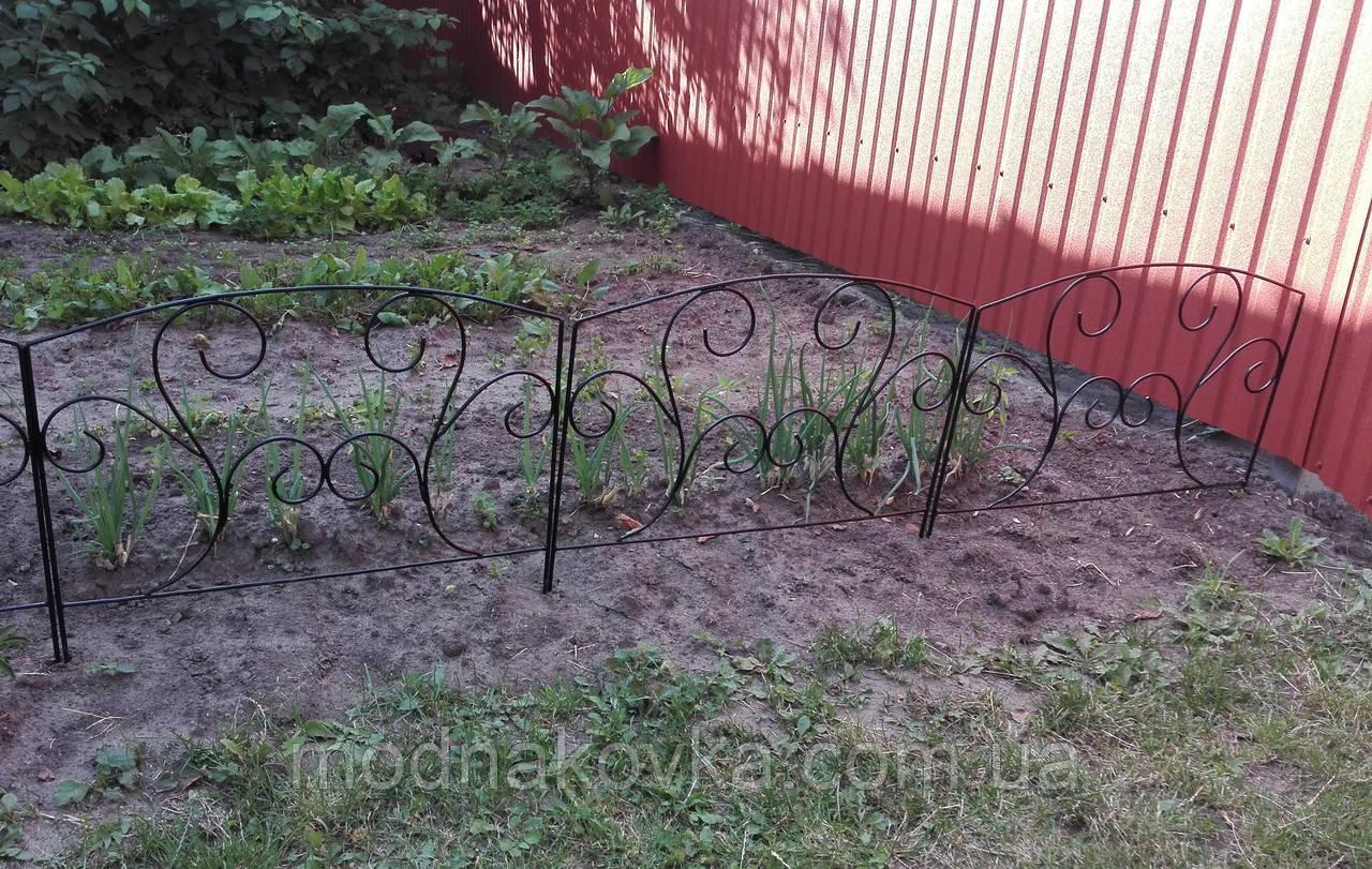 Забор для клумбы. Декоративное ограждение