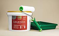 Моющаяся краска KOLORIT LEGENDA 9л + валик + кюветка в подарок