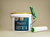 Матовая краска KOLORIT FAMILY 9л + валик в подарок