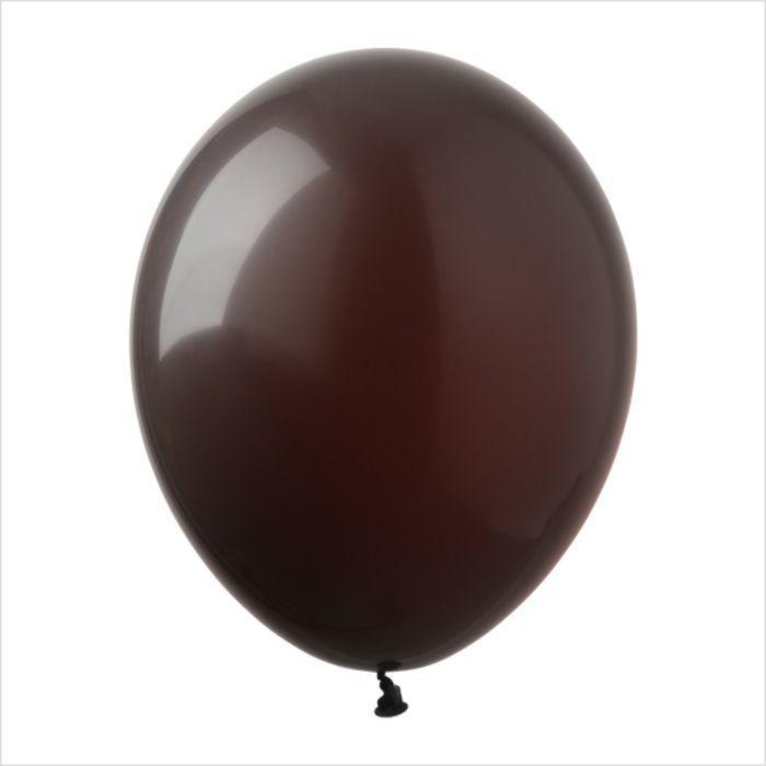 """Воздушные шары 5"""" пастель шоколадный (chokolate) 100 шт Арт Шоу"""