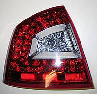 Skoda Octavia A5 седан оптика задняя LED светодиодная красная