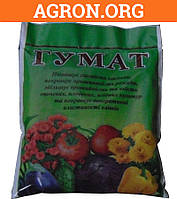 Гумат калия сухой для подкормки растений Украина 150 г - Комплексные удобрения