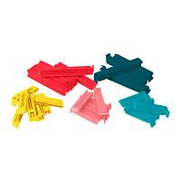 Зажимы для пакетов BEVARA, 30 шт., Различные цвета, разные размеры