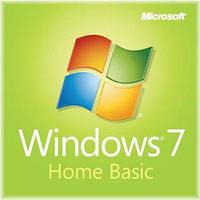 Microsoft Windows 7 Home Basic/Домашняя Базовая OEM 64 RUS электронный ключ активации