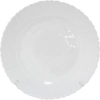 Тарелка 25 см Белая SNT 30072-00