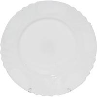 Тарелка 25 см Белая SNT 30077-00