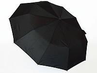 Зонт черный Feeling Rain 061E три сложения полуавтомат