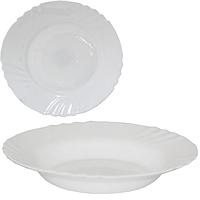 Тарелка суповая 22 см Белая SNT 30076-00