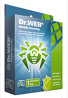 Dr.Web/Доктор Веб Mobile Security 1 Год 1 устройство Region FREE