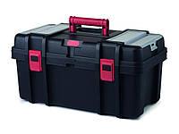 Ящик для инструментов 22'', черный с краным CLASSIC TOOLBOX Curver 223301