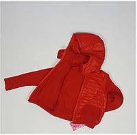 Куртка для мальчика 1372  (Вязанный рукав) весна-осень, размеры 98 до 116 возраст, от 3 до 8 лет, фото 1