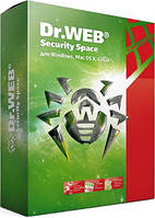 Dr.Web/Доктор Веб Security Space 2 Года 1 ПК + 1 моб. REG FREE