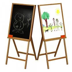Мольберт для малювання 2-сторон. (60*70*105) ВП-007 Вінні Пух