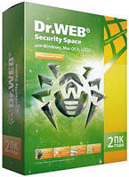 Dr.Web/Доктор Веб Security Space 2 Года 2 ПК + 2 моб. REG FREE