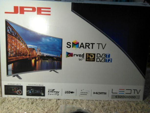 """Телевизор JPE 32"""" DU1000 Smart Изогнутый"""