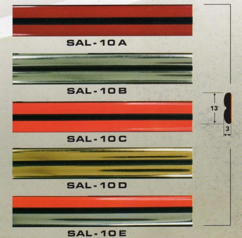 Молдинг SAL -10 A, B