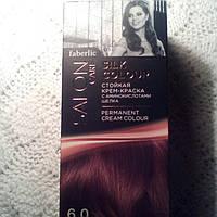 Стойкая крем-краска 6.0 с аминокислотами шелка Salon Care, faberlic 6.0 золотисто-русый