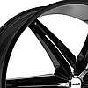 HELO HE866 Gloss Black with Chrome Inserts, фото 2