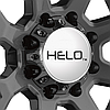 HELO HE878 Dark Silver with Machined Face, фото 3