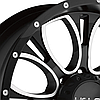 HELO HE879 Gloss Black with Milled Accents, фото 2