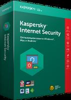 Kaspersky/Касперский Internet Security 2017-2018-2019 1ПК 6МЕС REG FREE