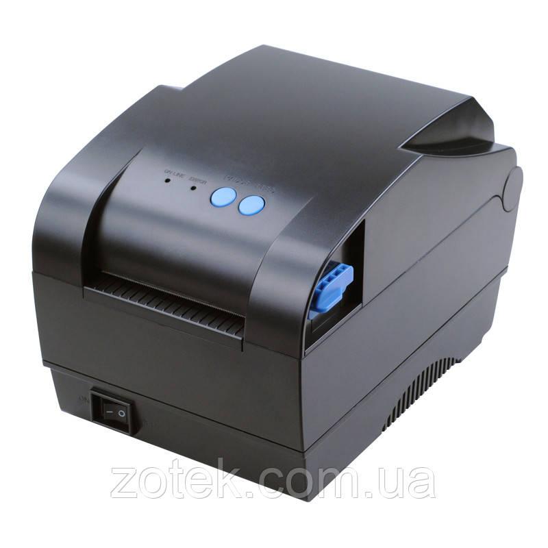 Термопринтер этикеток Xprinter XP-365B 20-80 мм