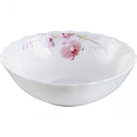Салатник 18см Розовая орхидея Стеклокерамическим SNT 30060