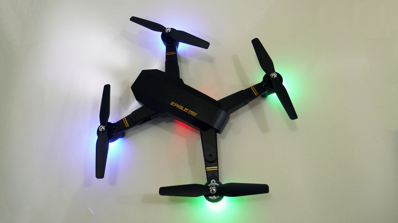 Квадрокоптер S9 WiFi камера складной корпус