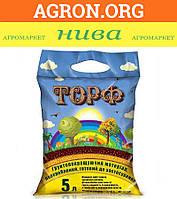Торф для обогащения почвы Украина 5 л - Торф и Кокос