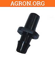 Заглушка универсальна 4 мм 7 мм EL- 5142 Престо - Фитинги для Капельной ленты и трубки