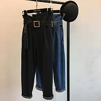 Стильные высокие джинсы, фото 1