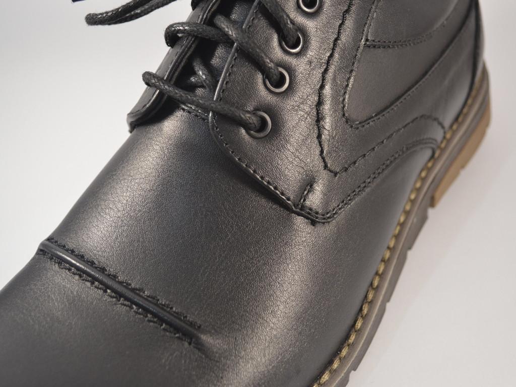 ... Полуботинки мужские кожаные Rosso Avangard Winterprince Duke Black  Leather Street черные b12bff48eadd0